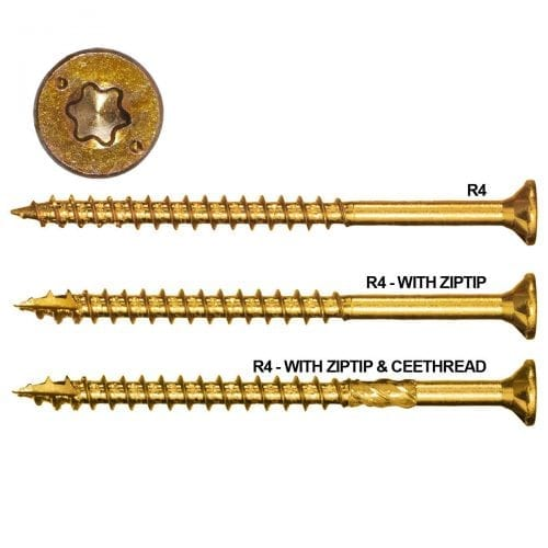R4 Multi-Purpose Screws