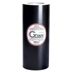 G-Tape Permanent Adhesion Construction Flashing Tape – Black – 51″ x 65′
