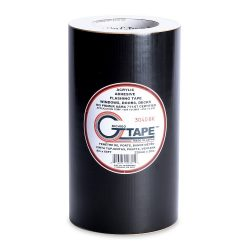 G-Tape Permanent Adhesion Construction Flashing Tape – Black – 9″ x 65′