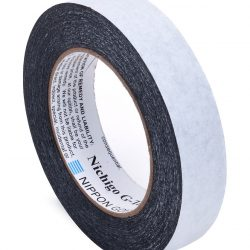 G-Tape Permanent Adhesion Construction Tape – Black, 2-Sided- 1″ x 65′
